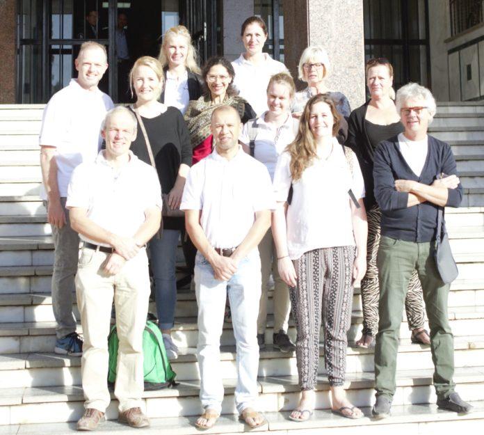 Dutch Cardiac team visiting Qena University hospital Nov 2019