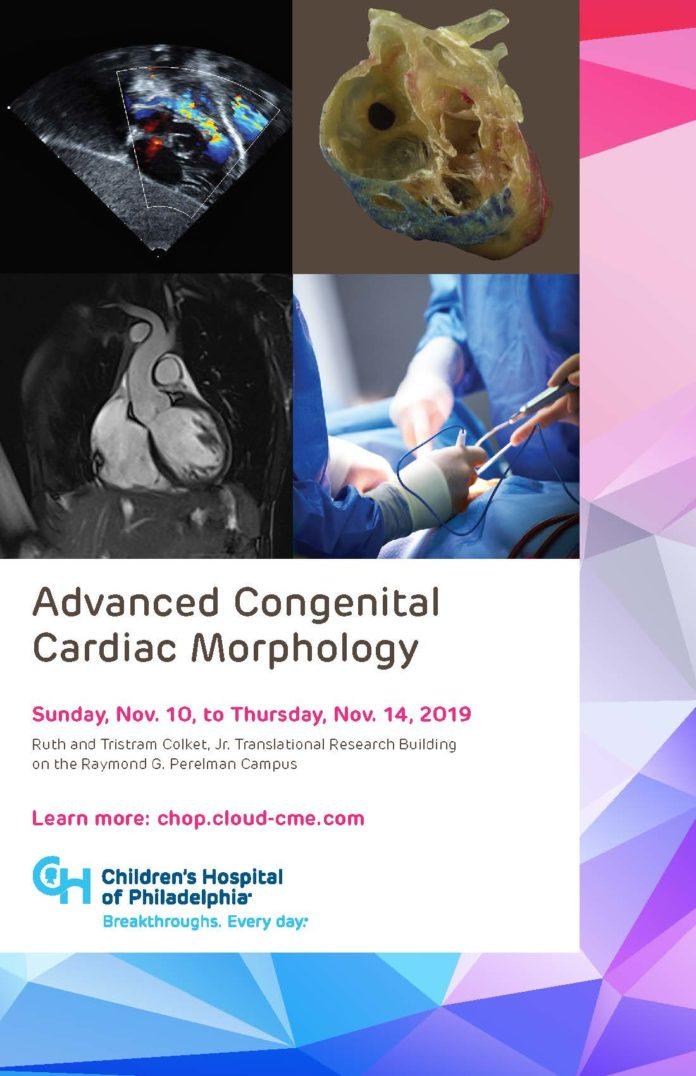 Advanced Congenital Cardiac Morphology