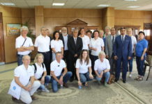 prof. yusuf elgharabawy with the dutch team