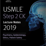 USMLE Step 2 CK Lecture Notes 2020 Psychiatric