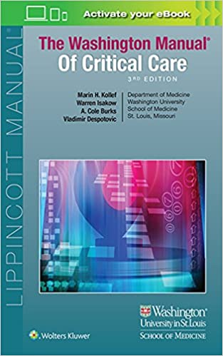 The Washington Manual of Critical Care 3rd Edition Free Download