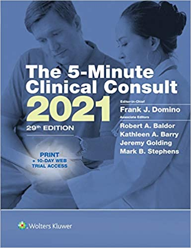 5-Minute Clinical Consult 2021 29th Edition PDF