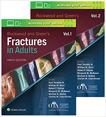 Rockwood and Green's Fractures in Adults 9th Edition PDF
