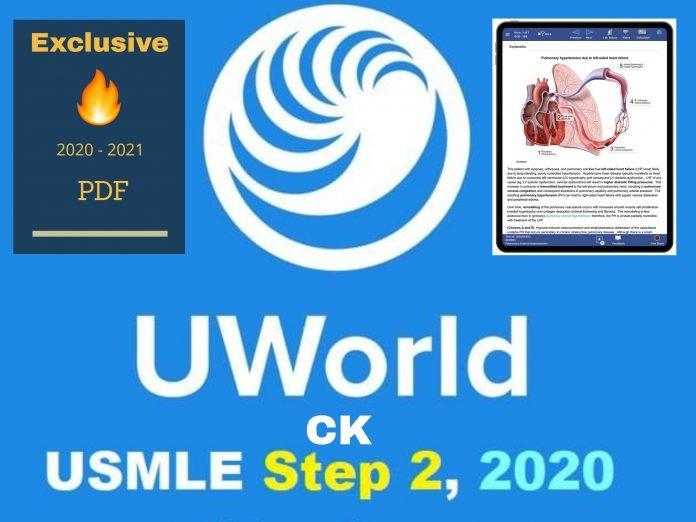 UWORLD USMLE Step 2 CK QBANK 2020 PDF Free Download