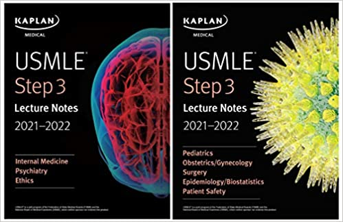 USMLE Step 3 Lecture Notes 2021-2022 3rd ed Third Edition PDF