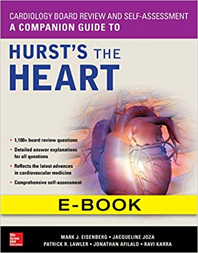 A Companion Guide to Hurst's the Heart 1st Edition PDF